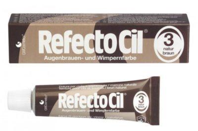 TINTURA X CIGLIA REFECTOCIL N°3 NATURAL BROWN