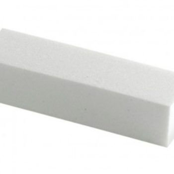 BUFFER PER UNGHIE Mattoncino bianco per limare le unghie