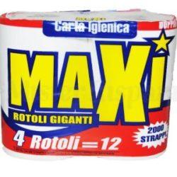CARTA IGIENICA MAXI X 4