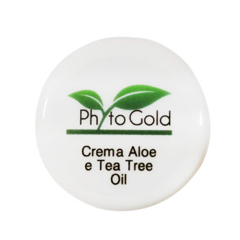 CREMA VISO NATURALE ALL'ALOE E TEA TREE OIL PHYTO GOLD 10 ML