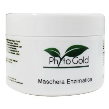 maschera enzimatica linea phytogold viso