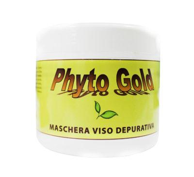 maschera viso depurativa phytogold linea maschere