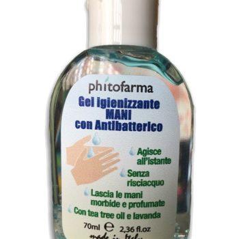 igienizzante mani gel antibatterico